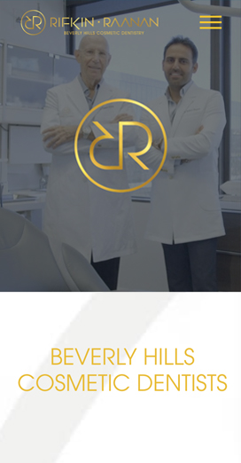 Dental Marketing Client Website RR